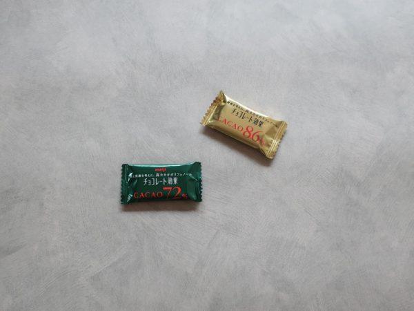 meijiチョコレート効果