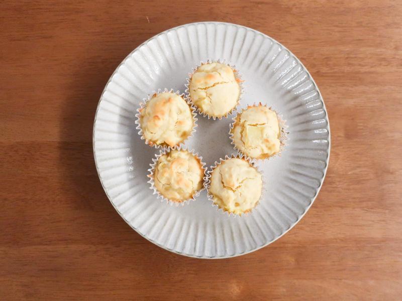 ホットケーキミックスで簡単マフィン作り