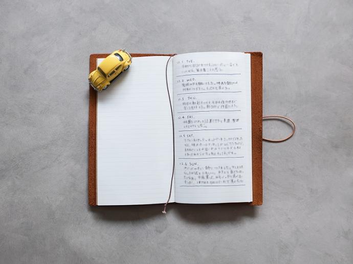 ゆるーいルールで日記を続ける